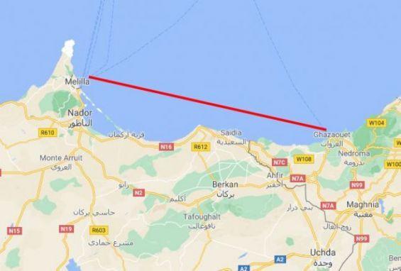 عودة الحديث عن مشروع للربط البحري بين مليلية والجزائر