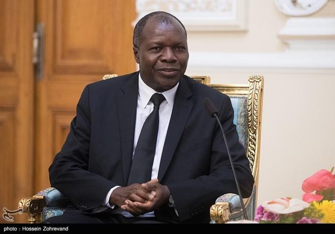, le ministre ivoirien des Affaires Etrangères, Abdallah Albert Toikeusse Mabri.