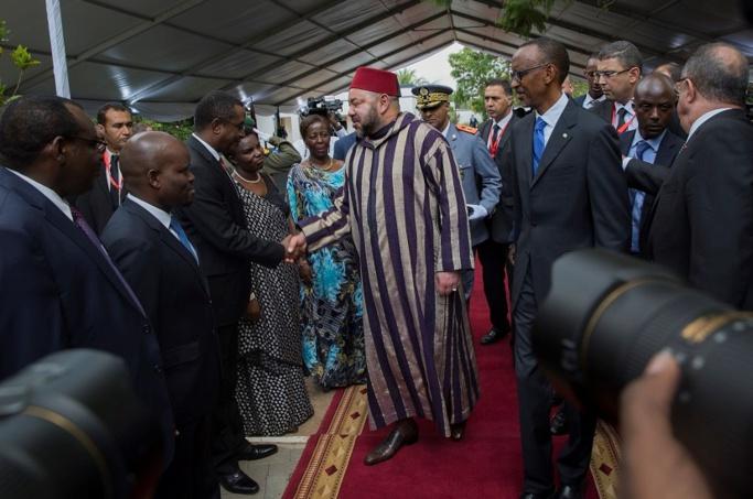 L roi Mohammed VI en visite d'Etat chez le président rawandais Paul KagamelL roi Mohammed VI en visite d'Etat chez le président rawandais Paul Kagamel