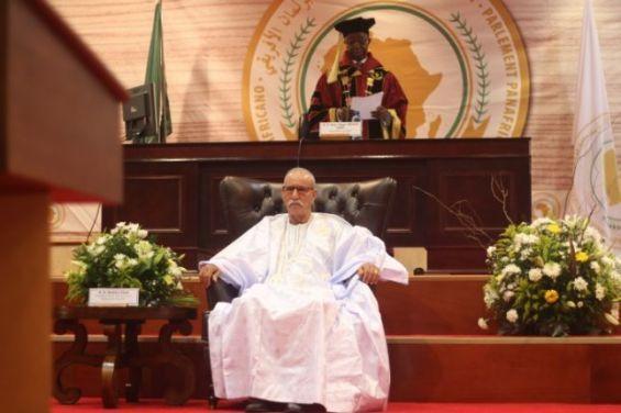 Jacob Zuma impose Brahim Ghali en tant qu'invité d'honneur à une session du Parlement panafricain
