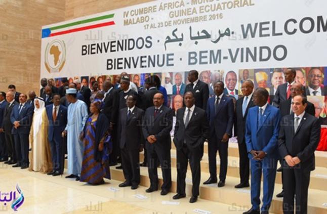 السيسي في القمة العربية الافريقية