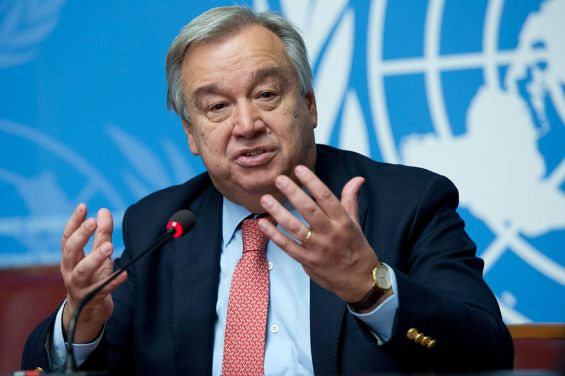 Antonio Guterres, the United Nations Secretary-General.