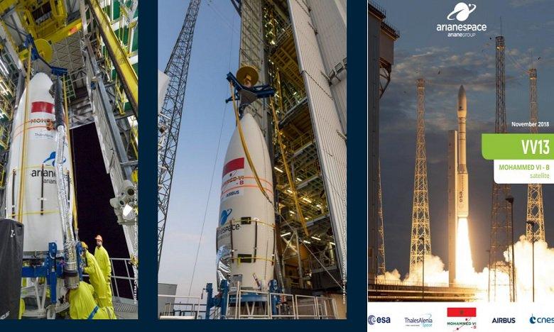 """Le satellite """"MOHAMMED VI-B"""""""
