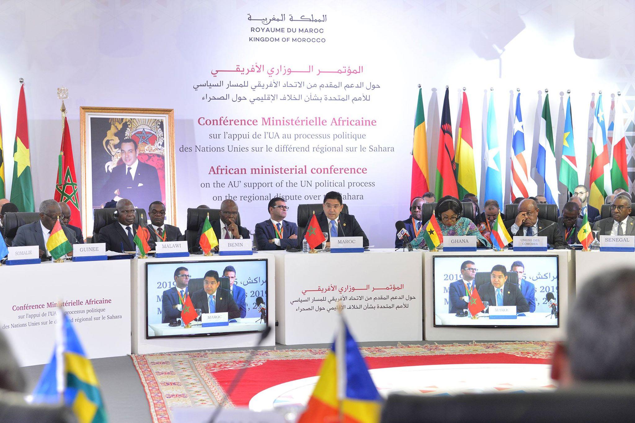 Débats constructifs des leaders de la Nouvelle Afrique solidaire et unie à la #CMAMarrakesh #MoroccanSaharaUN #ForTheNewAfrica #NewAfricanLeaders bourita