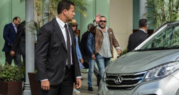 Roi du Maroc à Cuba