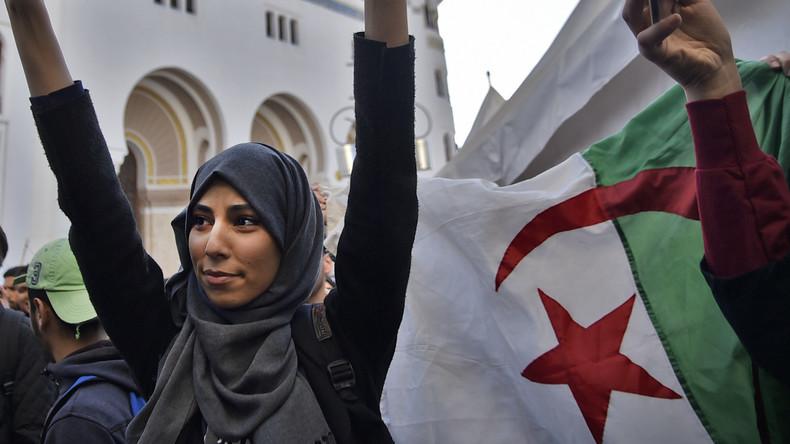 Algerie manifestations