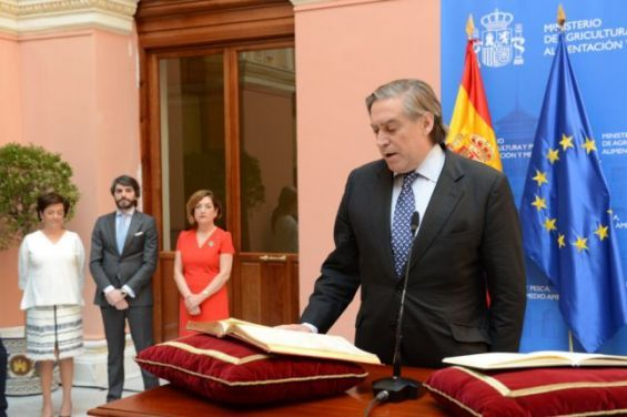 Alberto López García-Asenjo, secrétaire général de la Pêche espagno