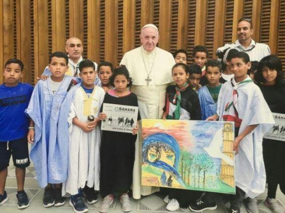 vatican pape sahara