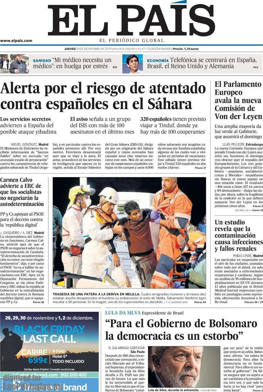 Los servicios secretos alertan del riesgo de atentado yihadista contra españoles en el Sáhara