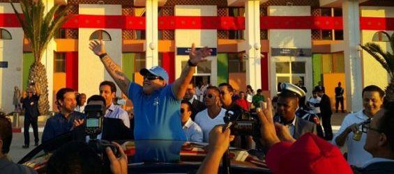 maradona in morocco