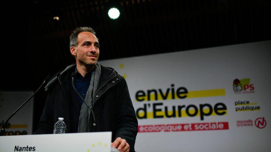 Le député européen Raphael Glucksmann