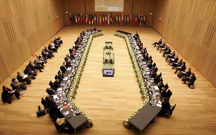Salle de réunion de la Commission européenne