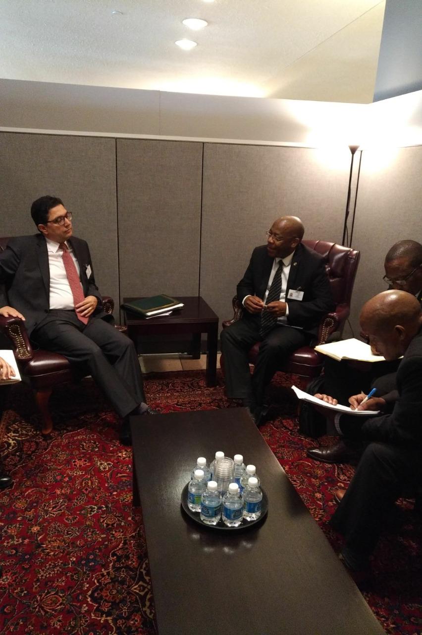 Bourita avec Lesotho MFA