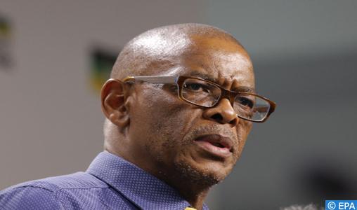 Ace Magashule, secrétaire général de l'ANC