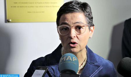 """موقف إسبانيا من قضية الصحراء هو """"سياسة دولة"""" (وزيرة الخارجية الإسبانية)"""