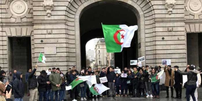 algerie manifestation paris