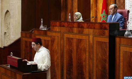 L'essentiel de l'exposé de M. Bourita concernant les projets de loi établissant la compétence jurid