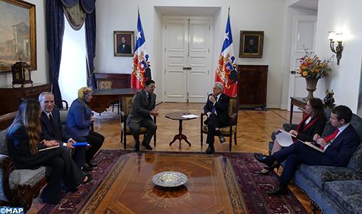 Le Chili exprime son appui au Plan d'autonomie en vue de parvenir à une solution politique réaliste à la question du Sahara