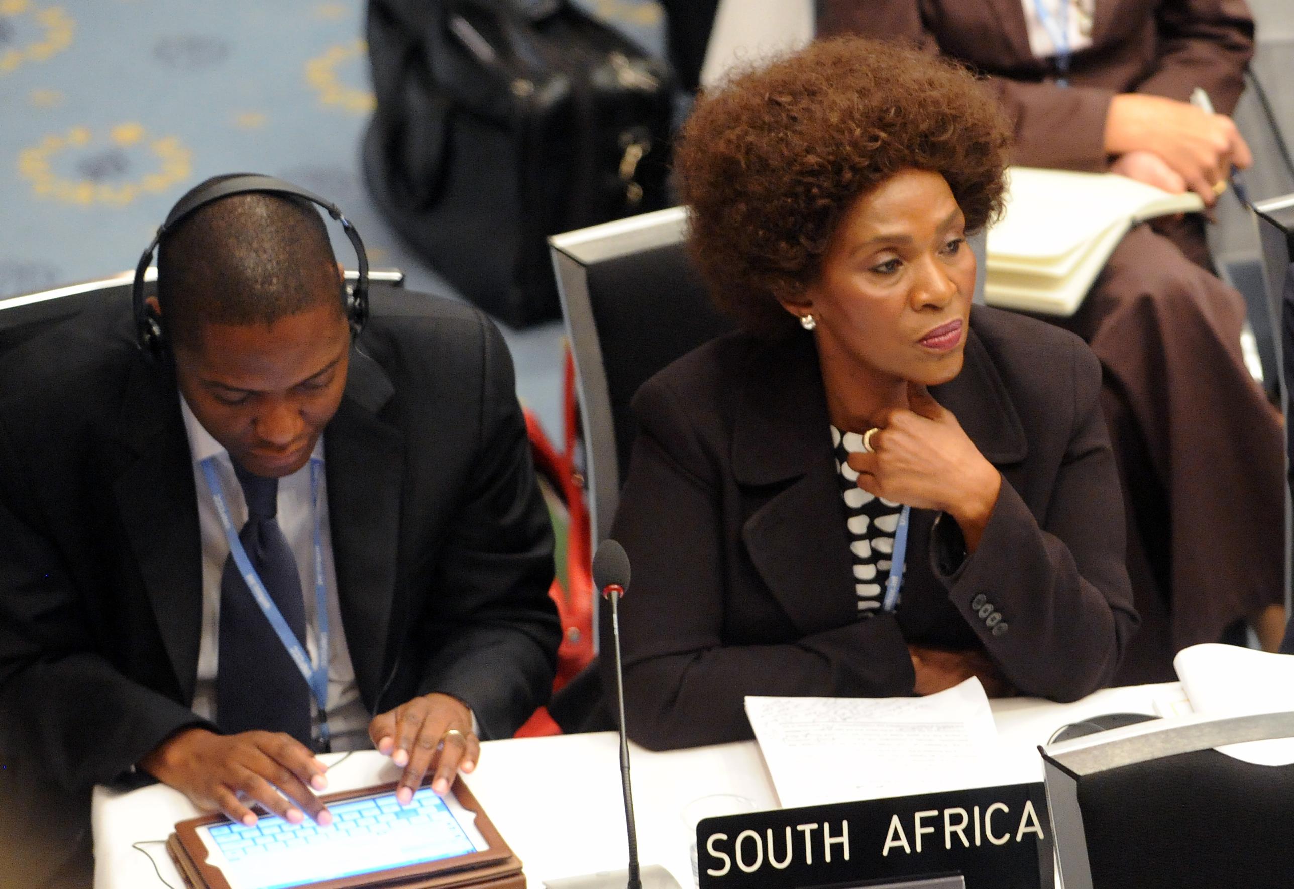 Ambassador Nozipho Mxakato-Diseko