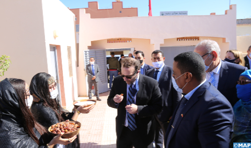 US Assistant Secretary of State for Near Eastern Affairs Arrives in Dakhla