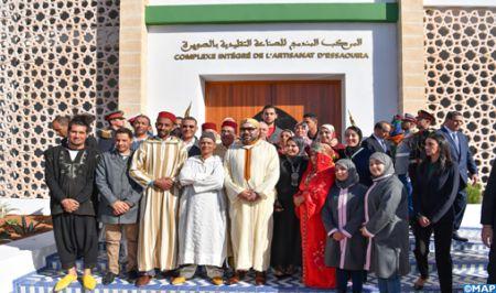 Lancement d'importants projets sociaux-économiques par le Roi Mohammed VI dans la Province d'Essaoui
