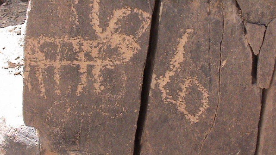 Les gravures rupestres