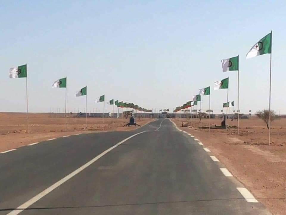 المعبر الحدودي ازويرات