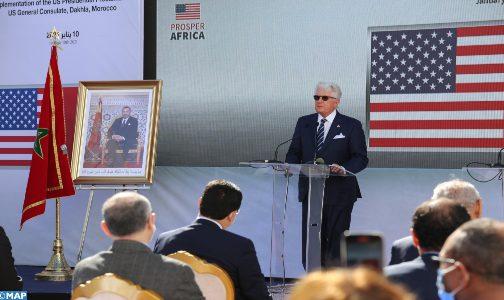 فتح قنصلية أمريكية بالداخلة: تجسيد للدعم الحازم لواشنطن لمغربية الصحراء