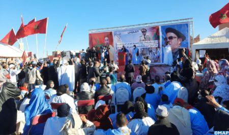 ساكنة جهة كلميم وادنون تثمن القرار الأمريكي الداعم لمغربية الصحراء (مباركة بوعيدة)