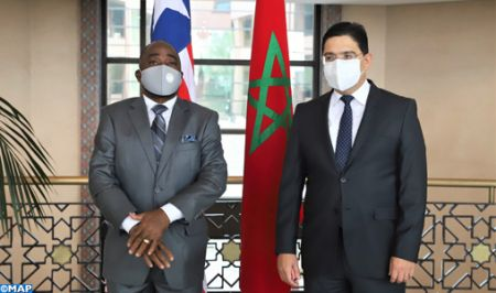 ليبيريا ملتزمة بموقفها الثابت الداعم لحق المغرب في وحدته الترابية وسيادته الوطنية