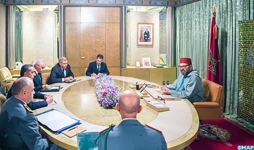Le Roi Mohammed VI ordonne des mesures pour endiguer la propagation du Coronavirus au Maroc.