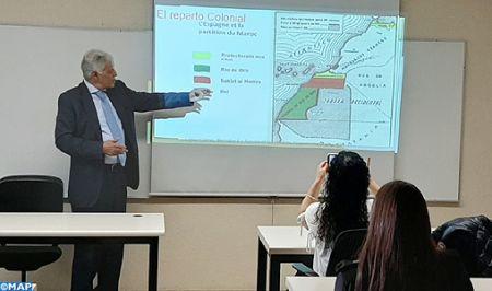 Sahara marocain: Bachir Edkhil démontre à Mexico comment l'option référendaire est caduque