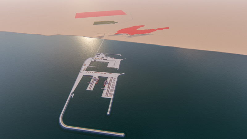 La construction du port stratégique Atlantique-Dakhla sera entamée en 2020
