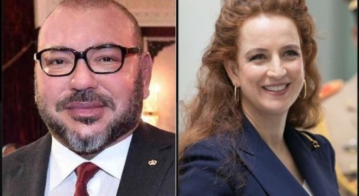 Le Roi du Maroc et Lalla Salma