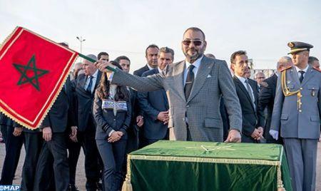 Agadir a accueilli le Roi du Maroc