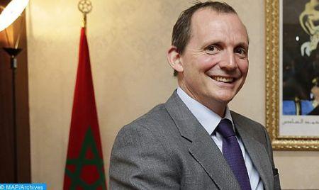 l'ambassadeur britannique au Maroc, Thomas Reilly.