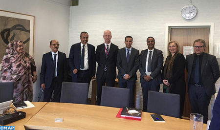 Une délégation d'élus des provinces du sud en visite à Oslo