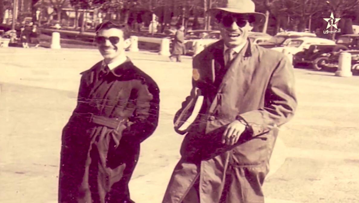 Mohamed Khadir El Hammouti avec Abdelaziz Bouteflika
