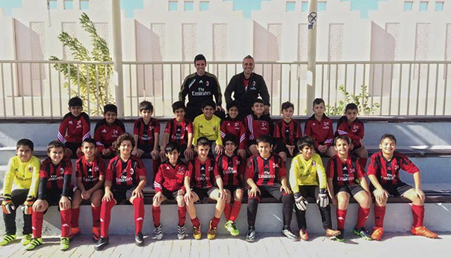 Ac Milan a Laayoune