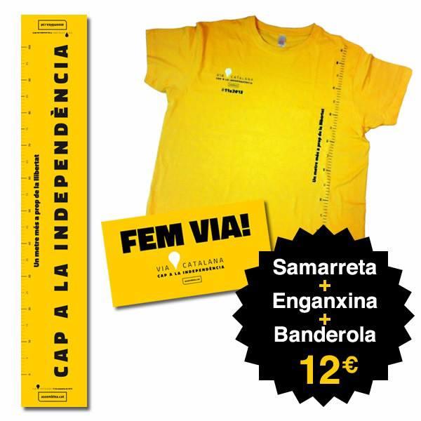 Espagne : Les t-shirts des indépendantistes catalans made in Maroc  Video