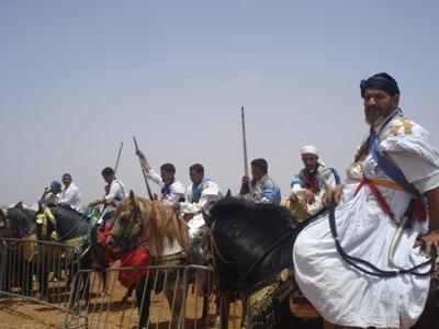 الملتقى الوطني الرابع لإحياء التراث لقاء أخوة الصحراء بمراكش