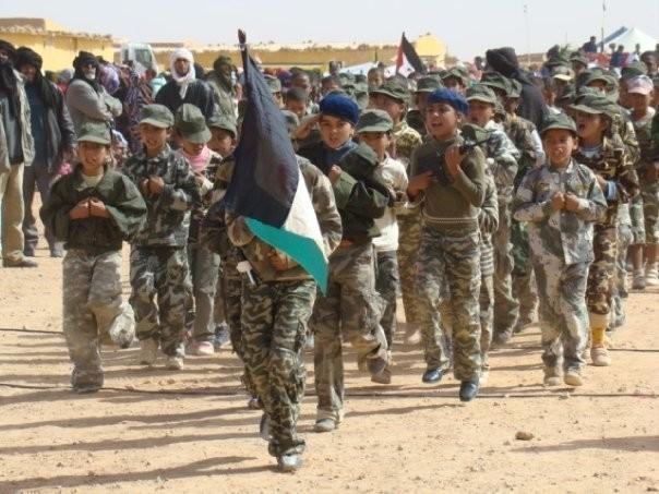 Tindouf : Des enfants sahraouis passent les vacances dans des stages militaires