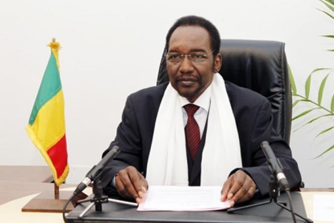 Le président malien par intérim, Dioncounda Traoré
