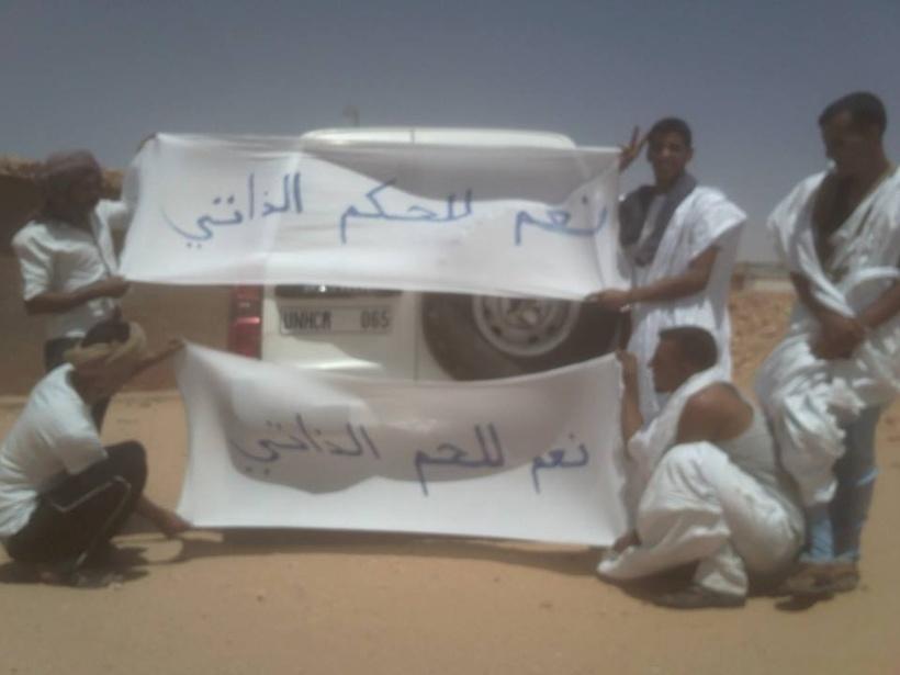 En direct de Tindouf : Oui à l'Autonomie !!