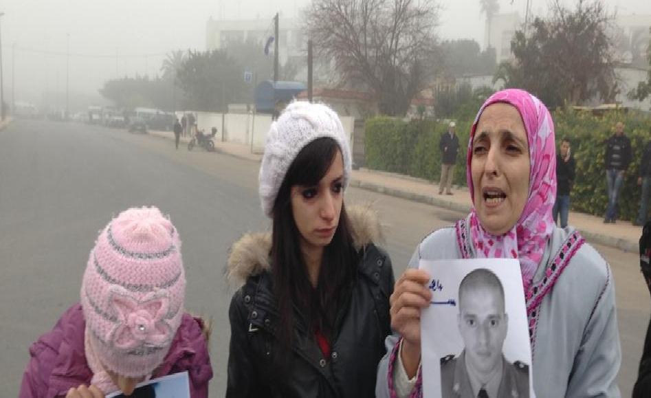 Famille d'une victime de terrorisme de Gdeim Izik