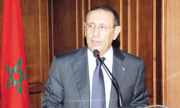 Youssef Amrani, ministre délégué auprès du ministre des Affaires étrangères et de la coopération.