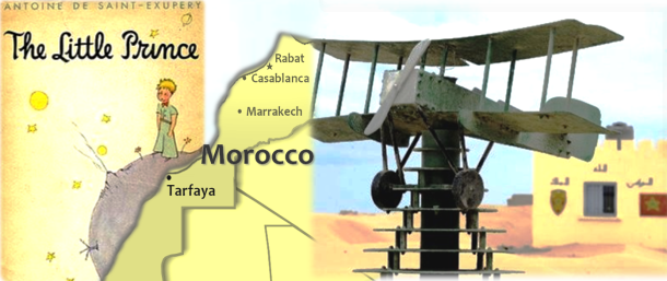 Battling the wind in his World War I biplane, a French pilot landed on a sandy Moroccan airstrip. Nearly 90 years on, a museum honors the two year stay of the late French author Antoine de Saint-Exupery in Tarfaya, Morocco and the world-renowned book it inspired. AFP