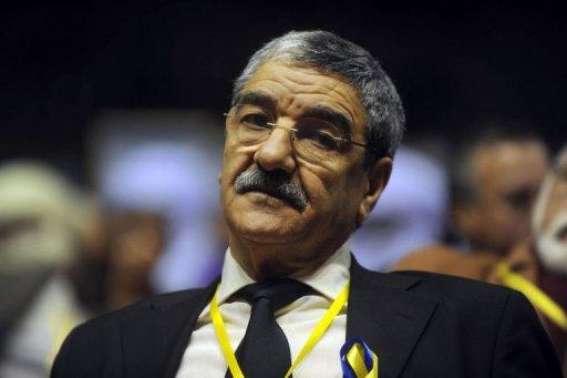 Le président du Rassemblement pour la Culture et la Démocratie (RCD) Saïd Sadi