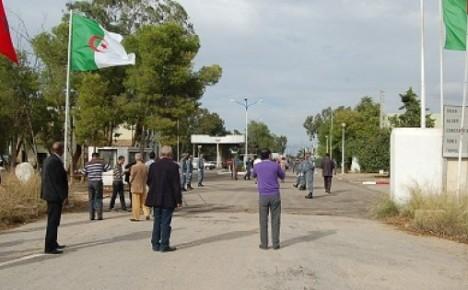 الجيش المغربي يتصدى للجيش الجزائري على الحدود