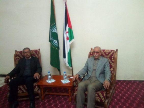 Mohamed Wali Akeik, lors de sa nomination par Brahim Ghali